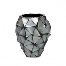 Schelpen vaas | Eric Kuster stijl | Silver
