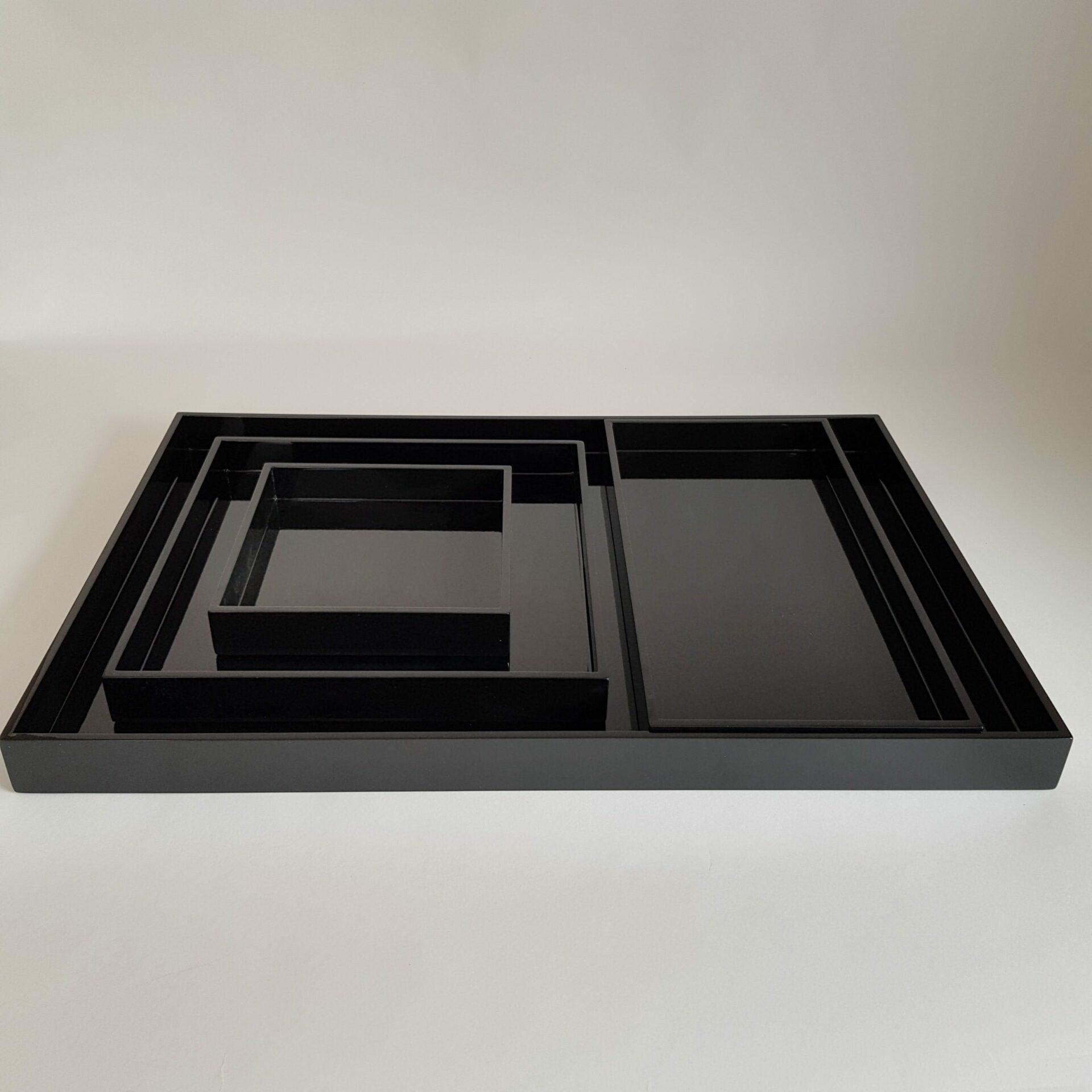 PLATEAU-FLORES-BLACK-SET