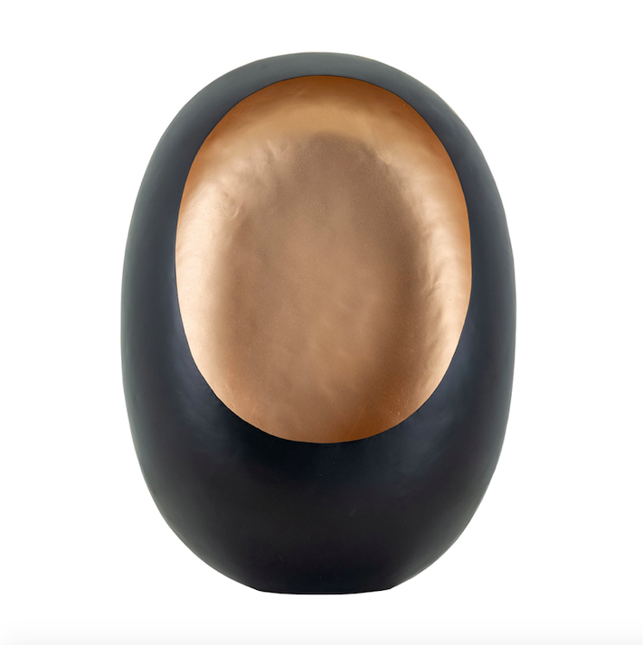 EGG-CANDLEHOLDER-BLACK-WITH-GOLD